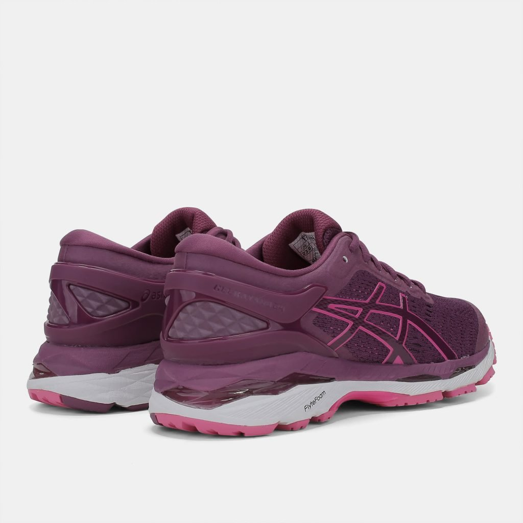 ad6af9345c1 One of the best running shoe lines of all time also happens to be a vegan- friendly option as well. The Asics Gel Kayano series is Asics  flagship  model ...