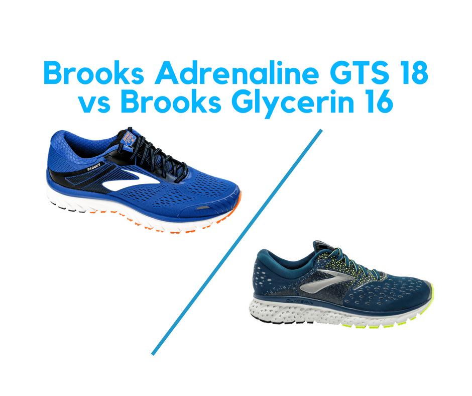 mizuno wave rider 18 vs brooks glycerin 12