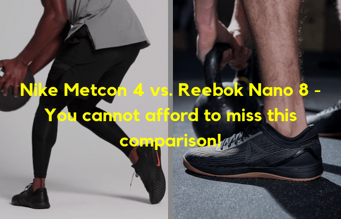 reebok speed tr flexweave vs nike metcon 4