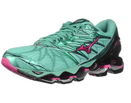 98a32948b9e8 The women's Wave Prophecy 7 running shoe is known for being one of the most  luxurious shoes that money can buy. In fact, almost every runner who has ...